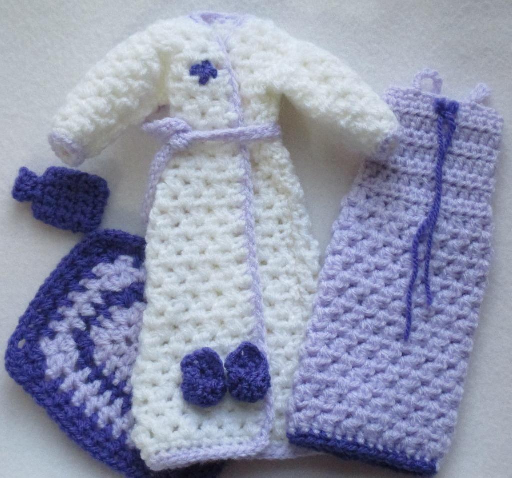 Crochet Fashion Doll Patterns Crochet Clothes for Fashion Dolls
