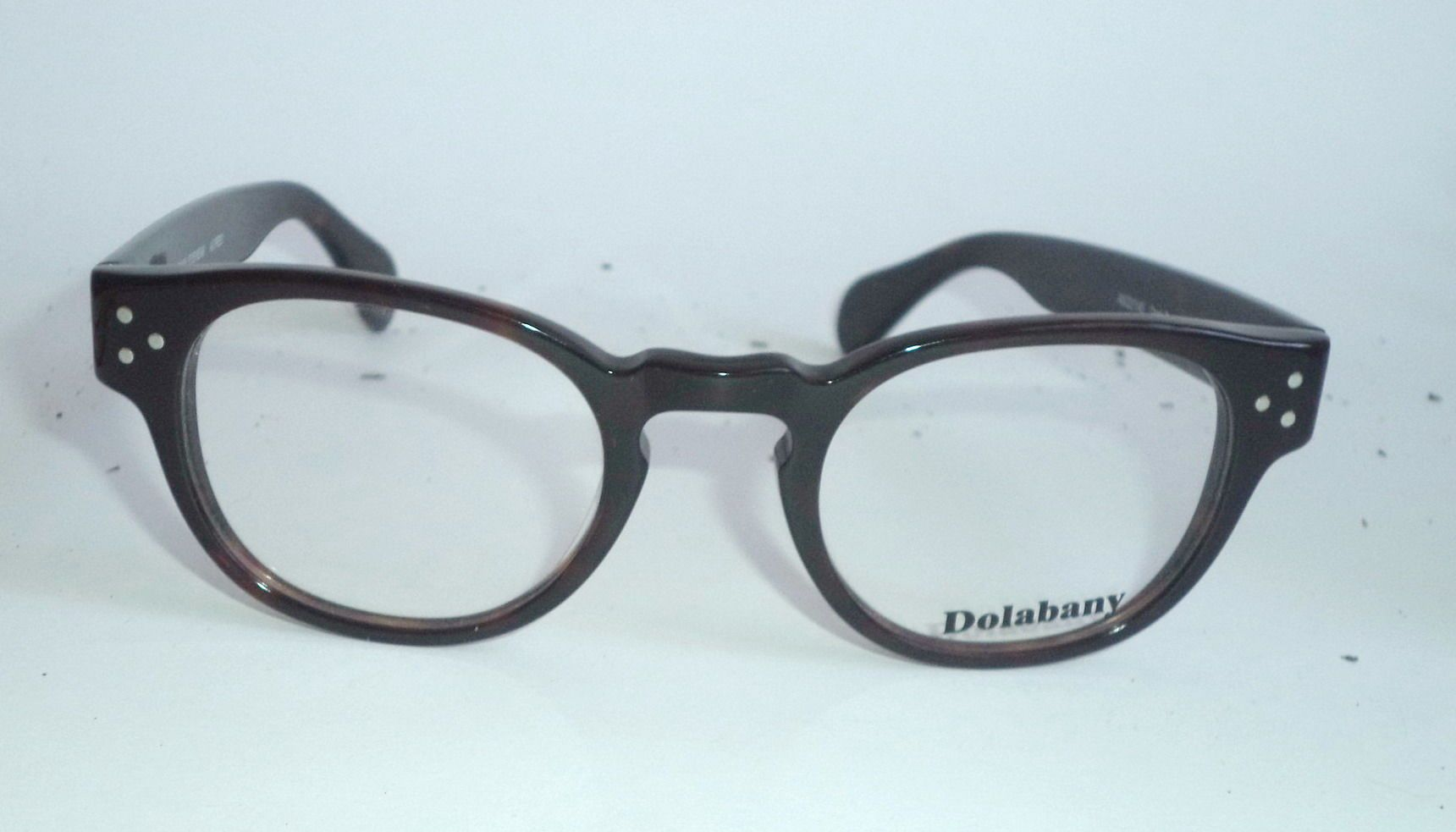 Dolabany Alfred New Retro Eyeglasses Tortoise Handmade tart horn rim ...