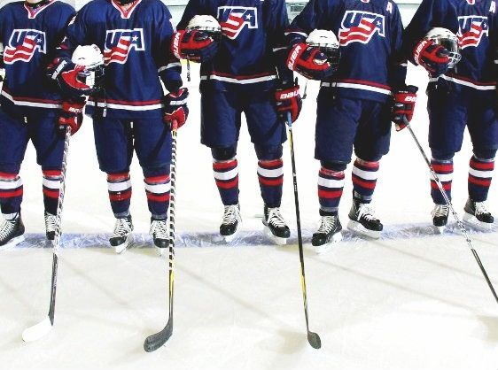 Usa Hockey 3 With Images Usa Hockey Olympic Hockey Boys Hockey