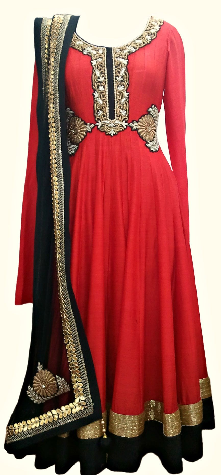 Red and black anarkali pinterest anarkali dresses and