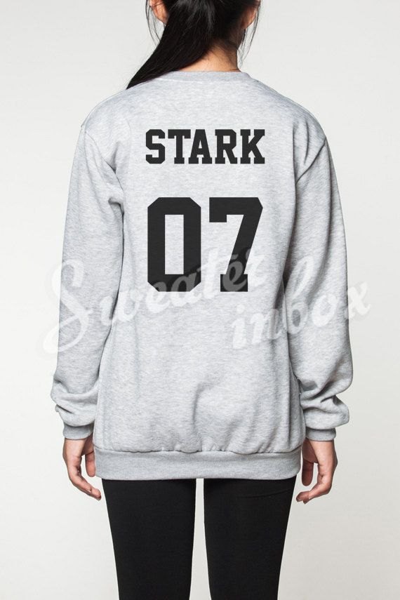 Game of Thrones Stark Shirt Sweater House by SweaterinBox on Etsy
