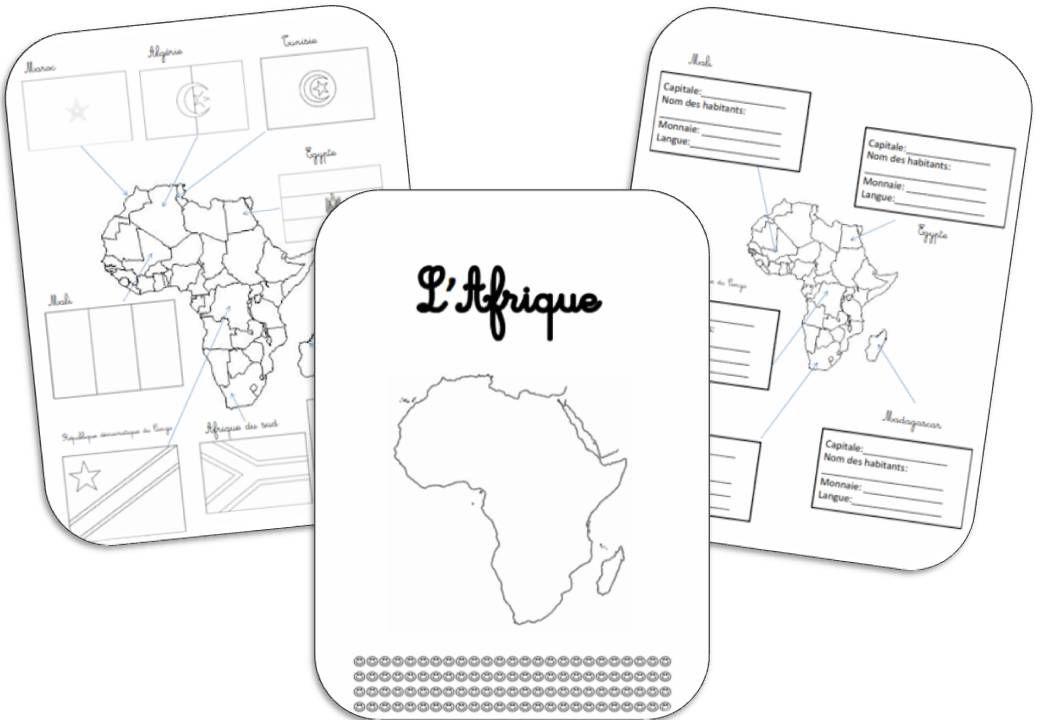 L Afrique Tour Du Monde Questionner Le Monde Ce1 Et Theme Tour