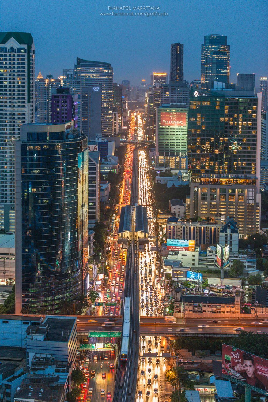 Bangkok Skyscraper Thailand กร งเทพมหานคร สถานท ต างๆ