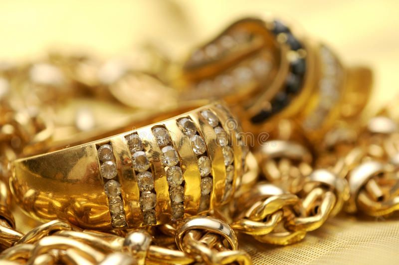 Gold And Gems Gold Rings With Gems Over Gold Chain Background Affiliate Rings Gems Gold Background Chain Ad Gold Gems Gold Chains