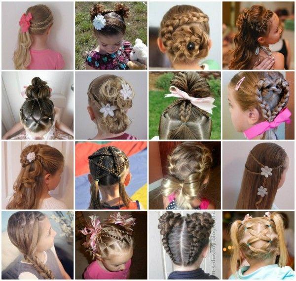 Incredible Little Girl Hairstyles Girl Hairstyles And Little Girls On Pinterest Short Hairstyles Gunalazisus