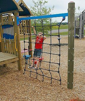 image result for backyard climbing structure playground