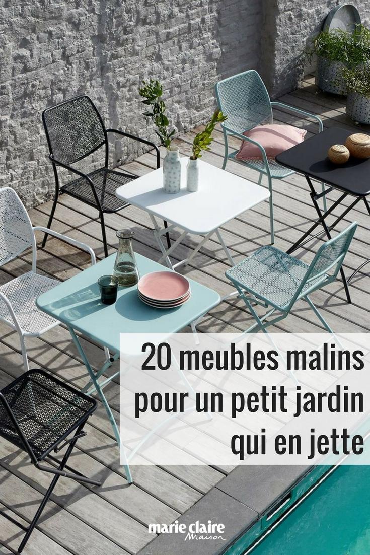 20 Meubles Malins Pour Un Petit Jardin Qui En Jette Mobilier De Salon Chaise De Jardin Jardins