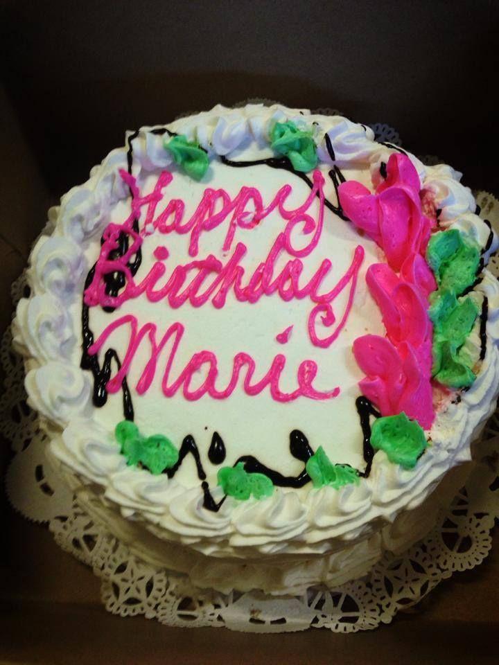 Happy Birthday Marie Dessert Desserts Cake Birthday