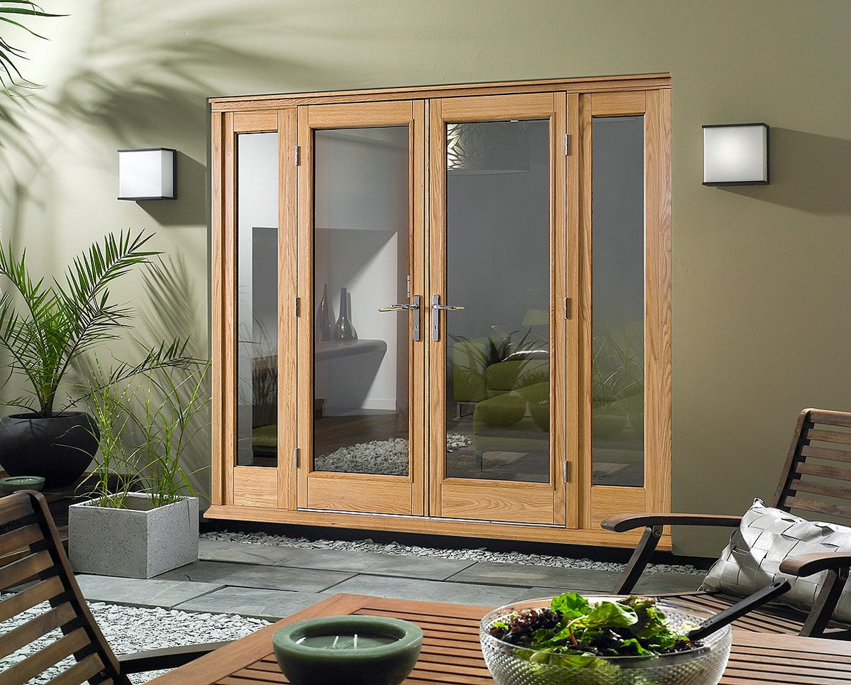 Nothing beats fiberglass doors for value and performance - Interior french doors with sidelights ...