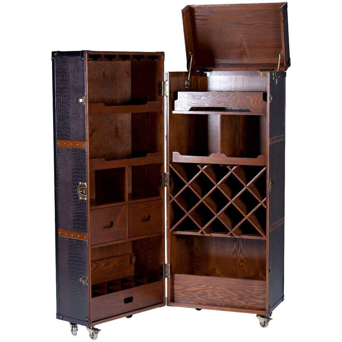 Butlers Hemingway Koffer Bar Mit Separatem Tablett Amazon De