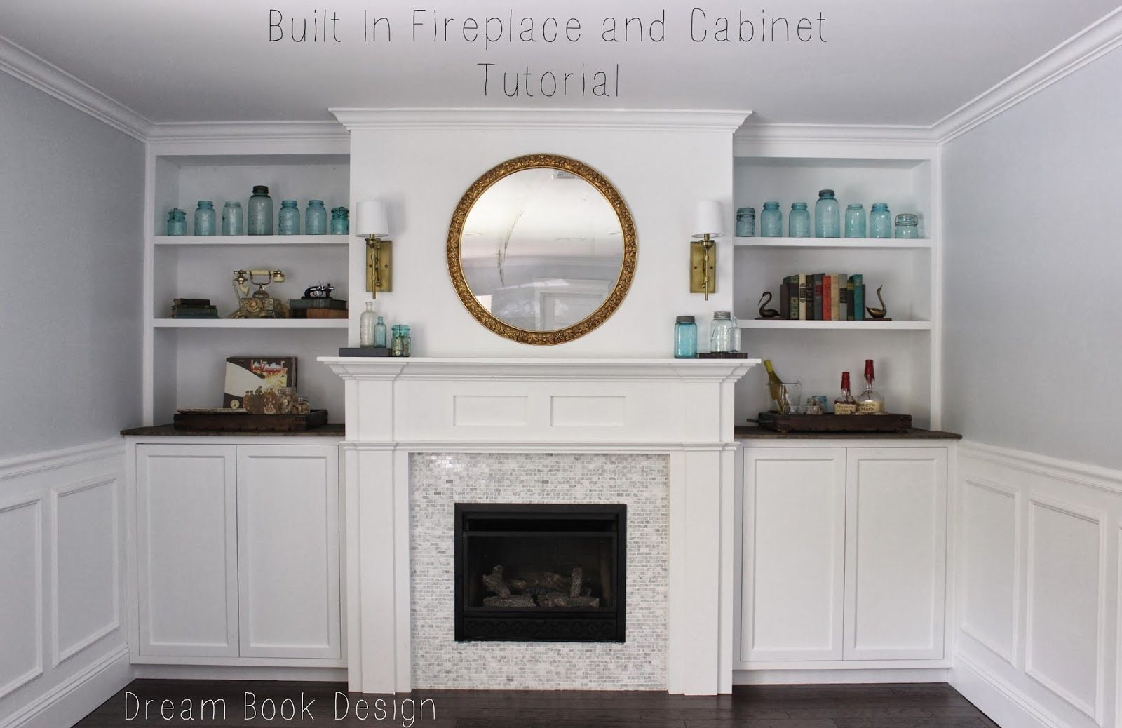 built in fireplace and cabinets tutorial dream book tutorials built in fireplace and cabinets tutorial