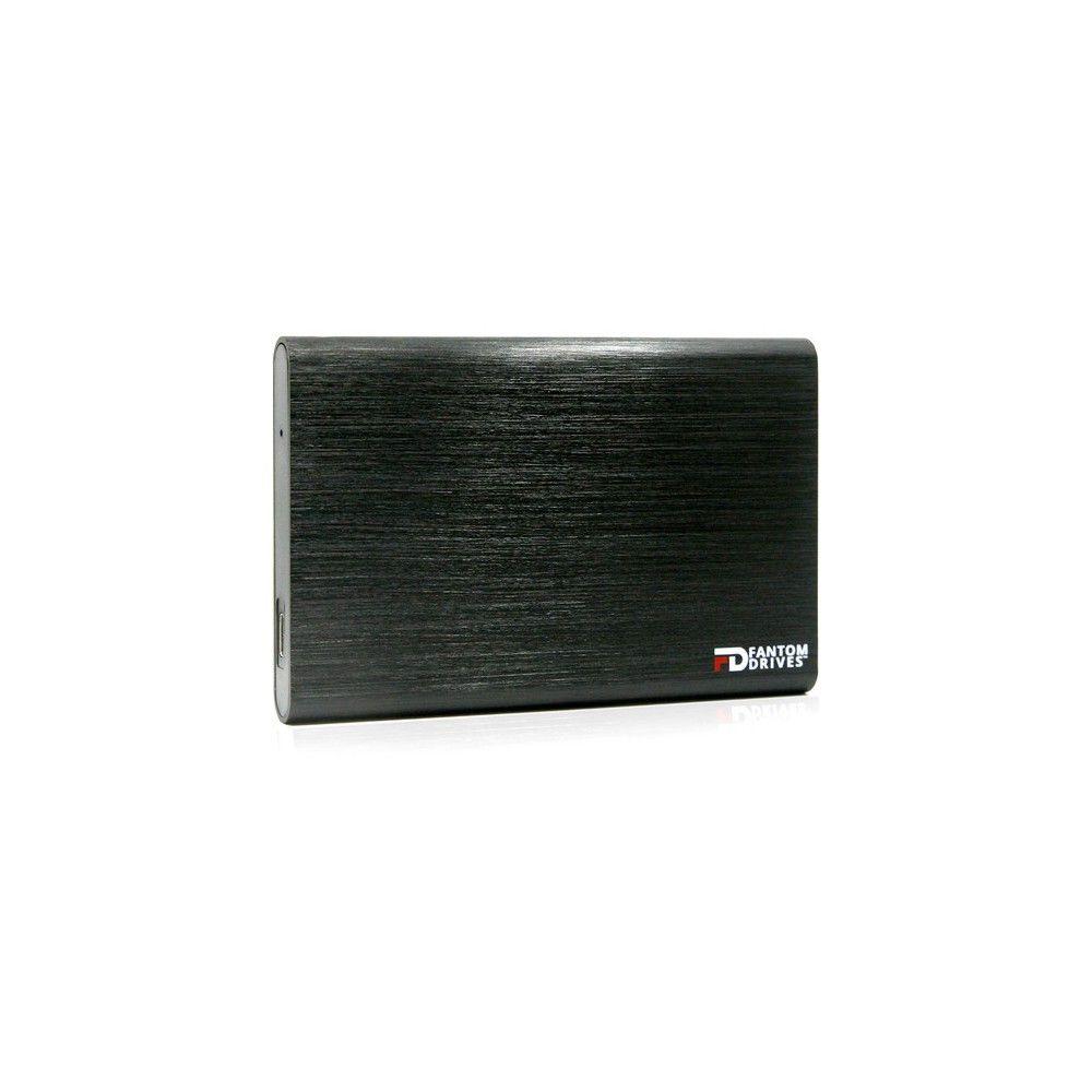 Black Fantom Drives External SSD 2TB USB 3.1 Gen 2 Type-C 10Gb//s Mac