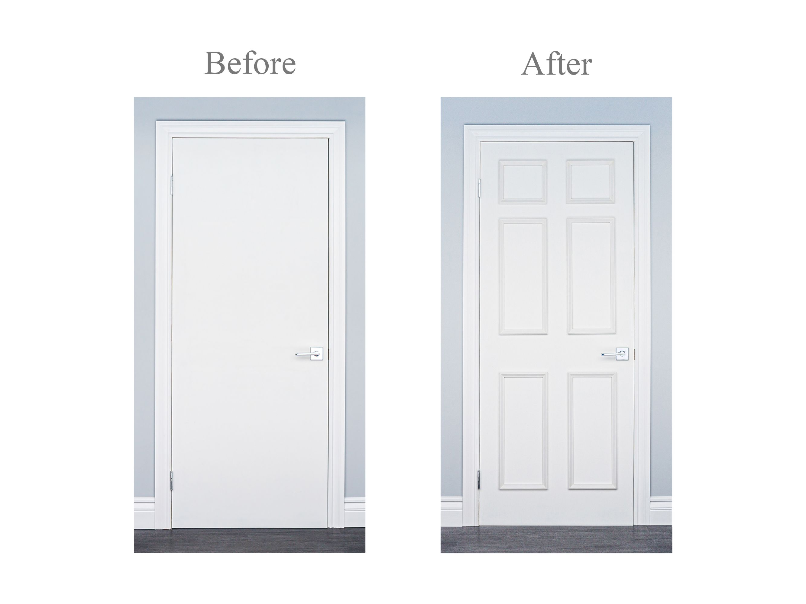 Transform Plain Doors Quickly And Easily Patent Pending Self