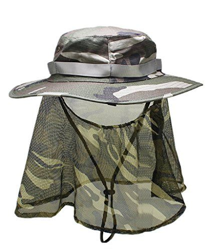 Home prefer men 39 s camouflage bucket boonie hat with mesh for Home prefer hats