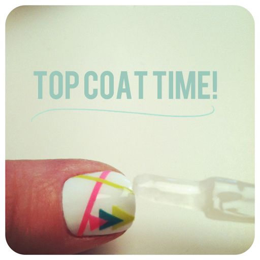 DIY graphic designs for nails