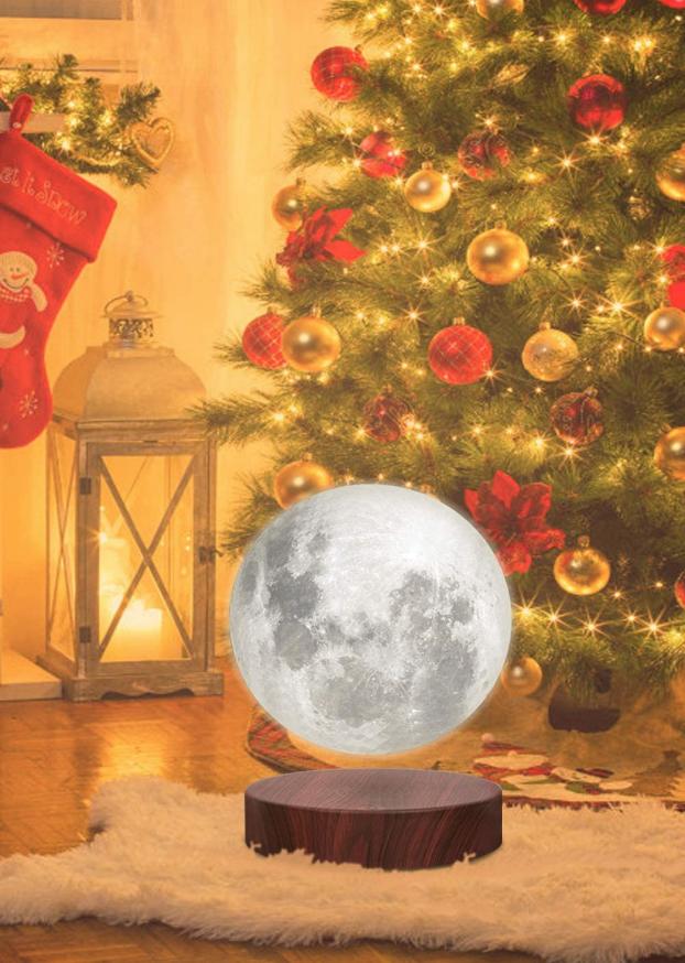 Magnetische Schwebelampe In 2020 Nachtlicht Mond Lampe Dekor