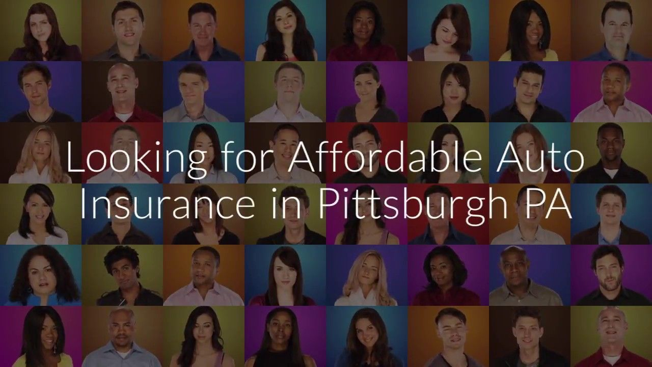 Affordable Auto Insurance Pittsburgh PA | Instructional ...