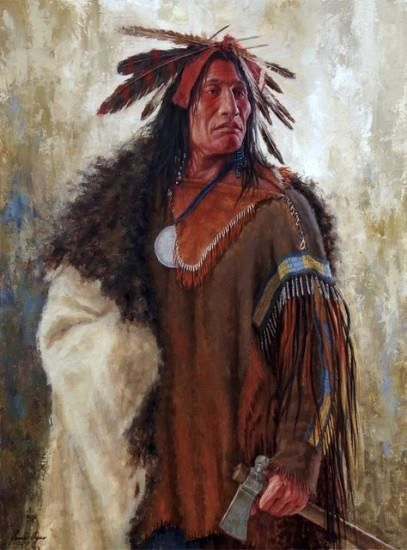 "james ayers   Wahktageli, Gallant Warrior"" by James Ayers"