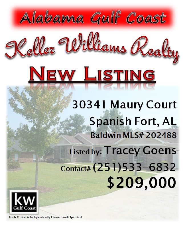 30341 Maury Court Spanish Fort Al Mls 202488 209 000
