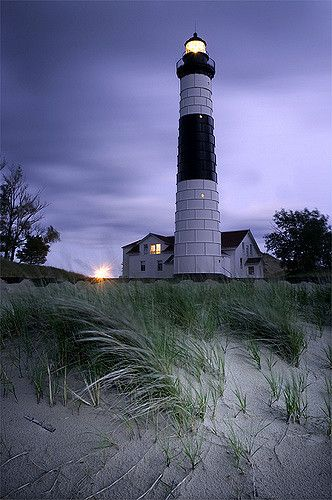 Grand Sable Lighthouse | Flickr - Photo Sharing!