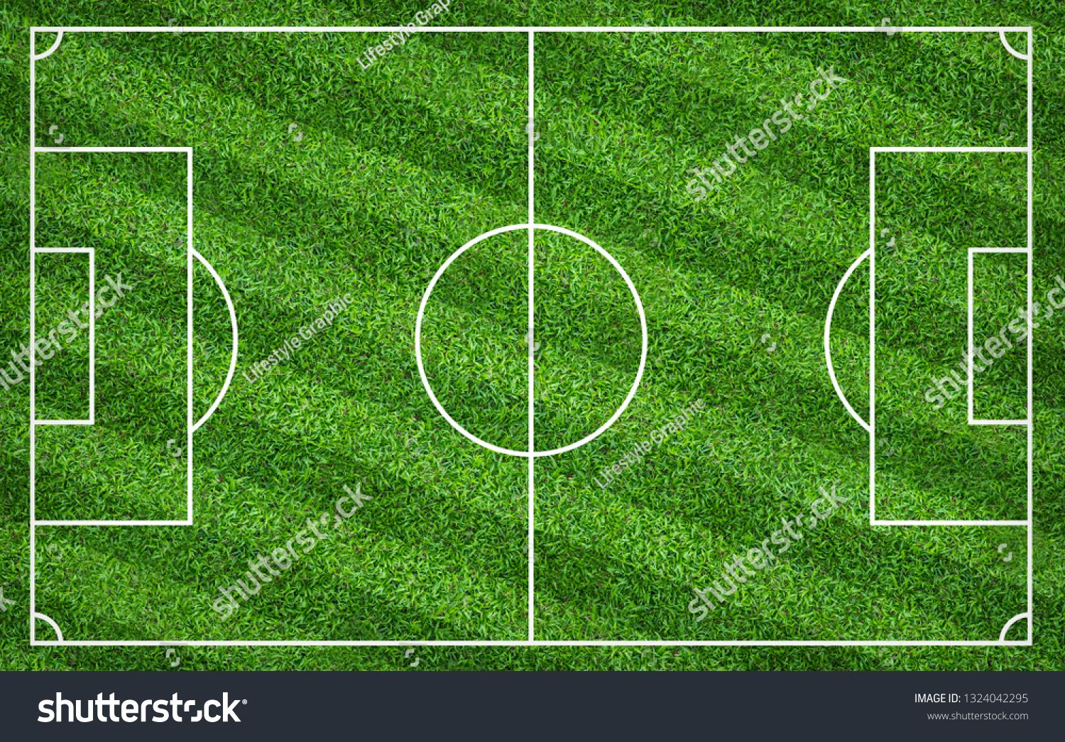 Football Field Or Soccer Field For Background Green Lawn Court For Create Sport Game Ad Spon Background Green Soccer Football Field Soccer Field Soccer