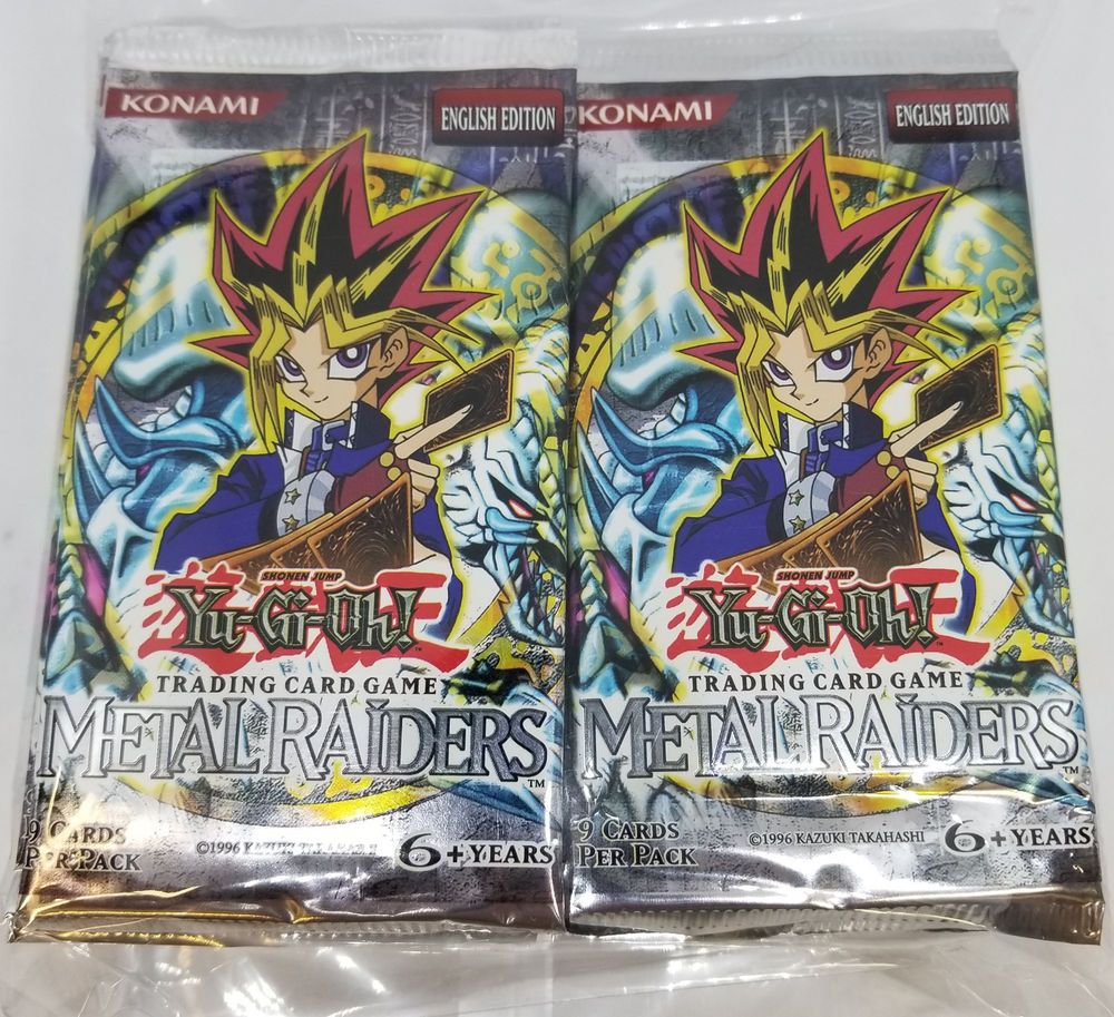 24x yugioh metal raiders mrd unsearched booster packs