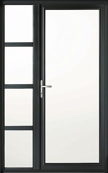 La porte d\u0027entrée vitrée Transparence ou opacité la porte d - Pose Brique De Verre Exterieur