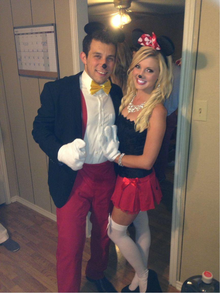 mickey and minnie halloween costume - Teen Couples Halloween Costumes