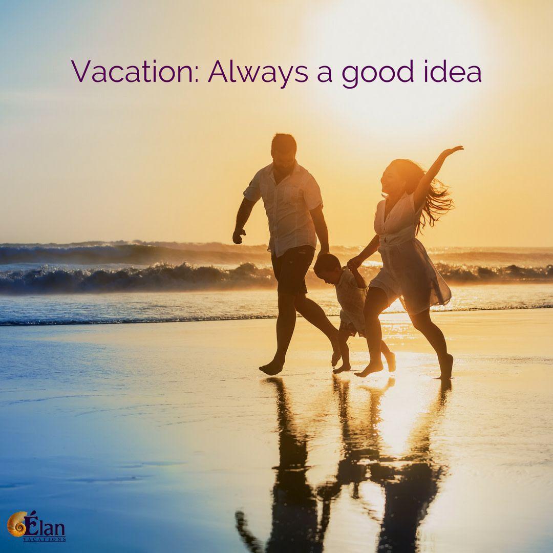 Family is always a good idea too! Family + Beach ...