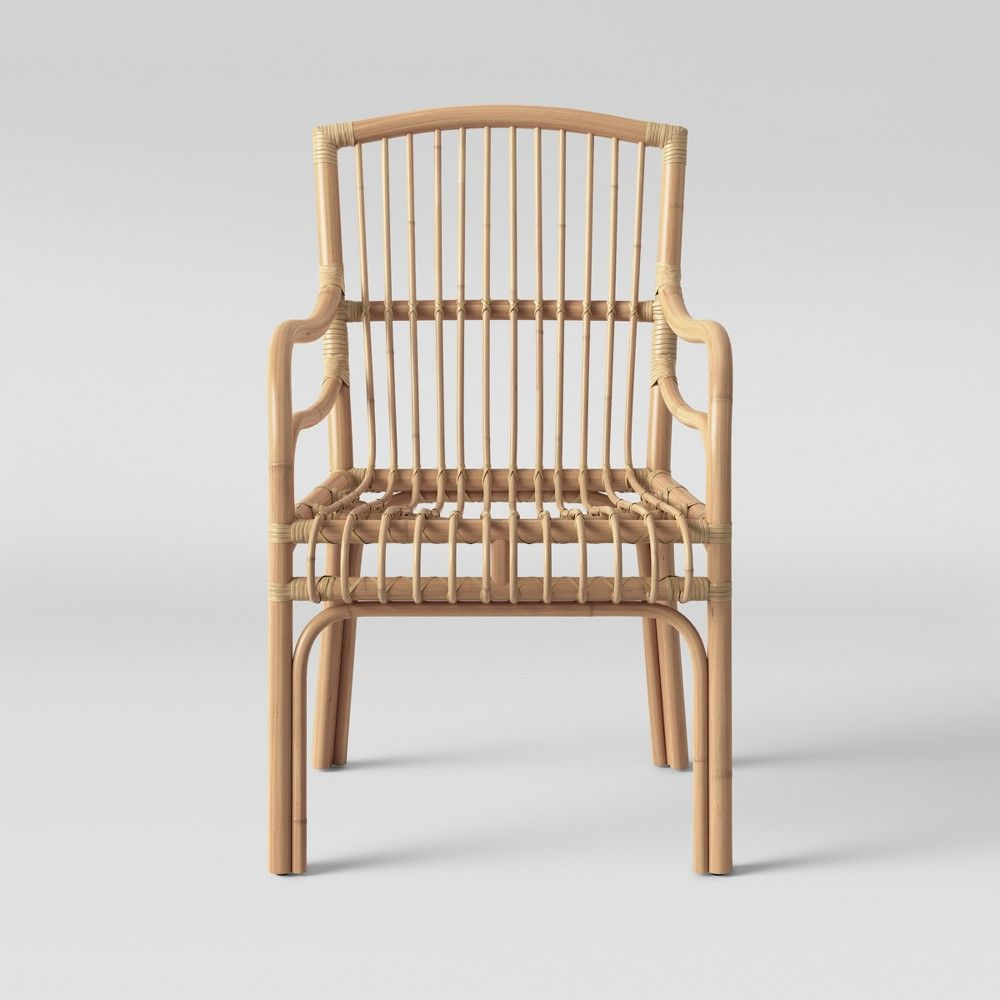 Bella Rattan Arm Chair Opalhouse Brown Products In
