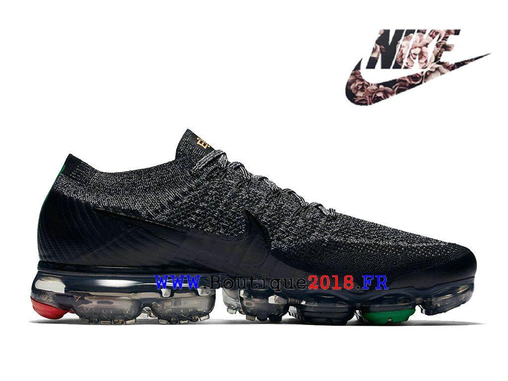 Nike Air VaporMax Flyknit Pas Cher Prix Asphalt Chaussures Homme ...