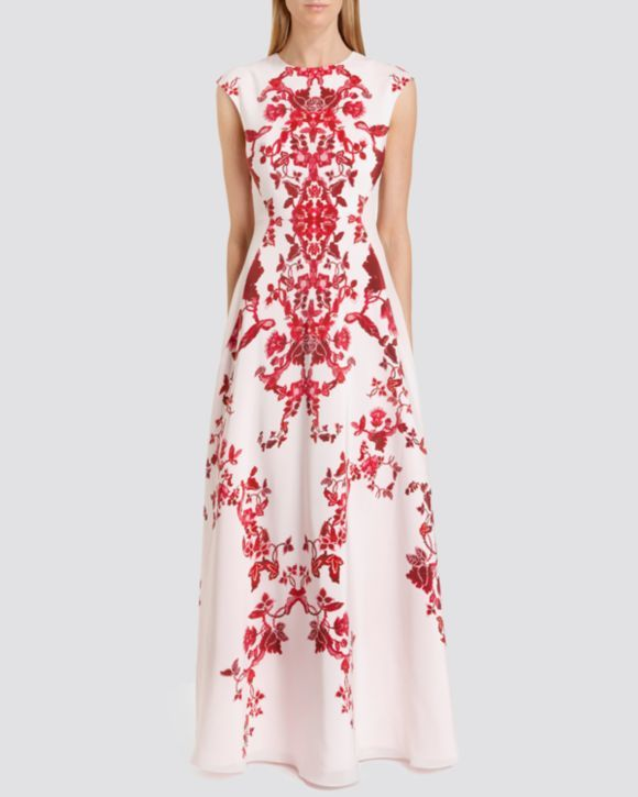 Ted Baker Gown - Nelum Asian Floral | Bloomingdales's