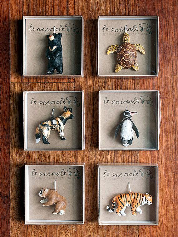 Cute Totem Ornament Slow Loris Animal Miniatures by leanimale