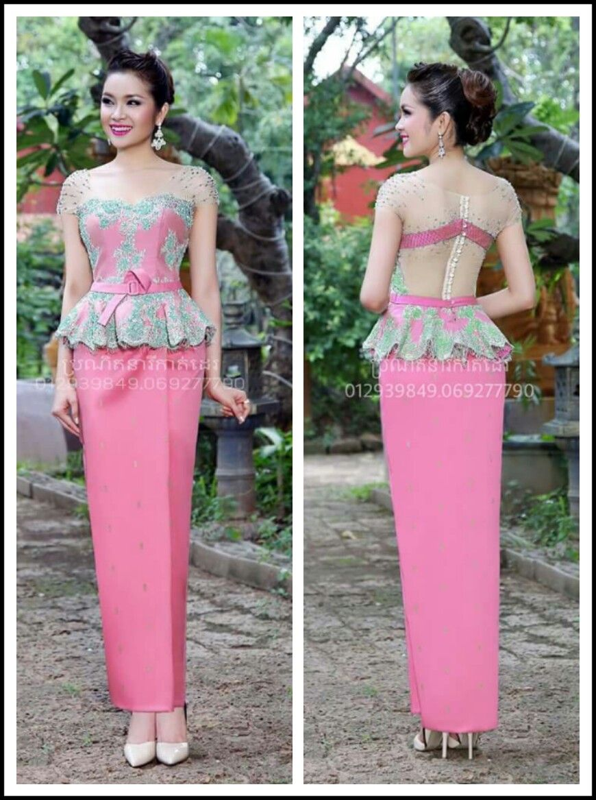 Pin de aikin 77 en Cambodia dress | Pinterest