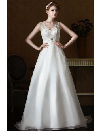 eden gold label elegante preiswerte brautkleider style gl056  brautkleid stoff hochzeitskleid