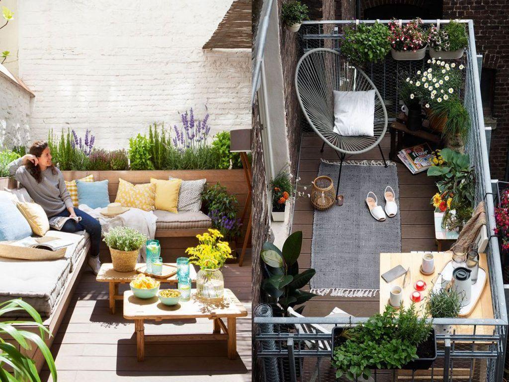 Ideas Para La Decoración Terrazas O Balcones Que Te Van A