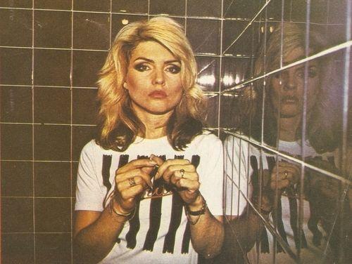 Vintage 1970 S Photo Of Debbie Harry Posing In The Black Bar