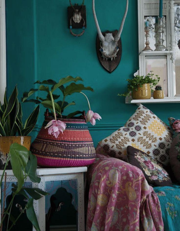 Idée Décoration Maison En Photos 2018 Image Description couleurs - peinture murale interieur maison