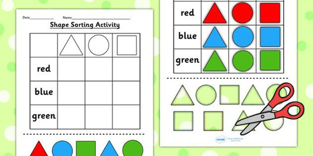 Number Names Worksheets cut and paste math activities Free – Math Cut and Paste Worksheets