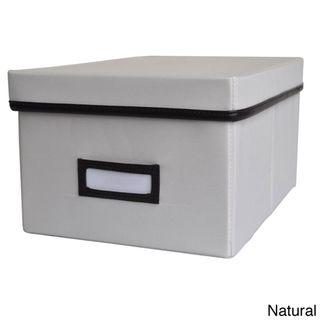 Decorative Dvd Storage Boxes Decorative Canvas Lidded Storage Box 6' X 11625' X 8375