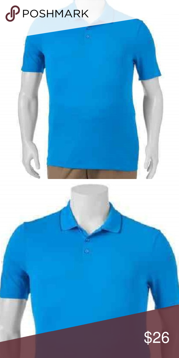105841172 GOLF SHIRT FILA SPORT POLO XL Wicking 1 Left NWT Featuring a  moisture-wicking fabric and fitted design