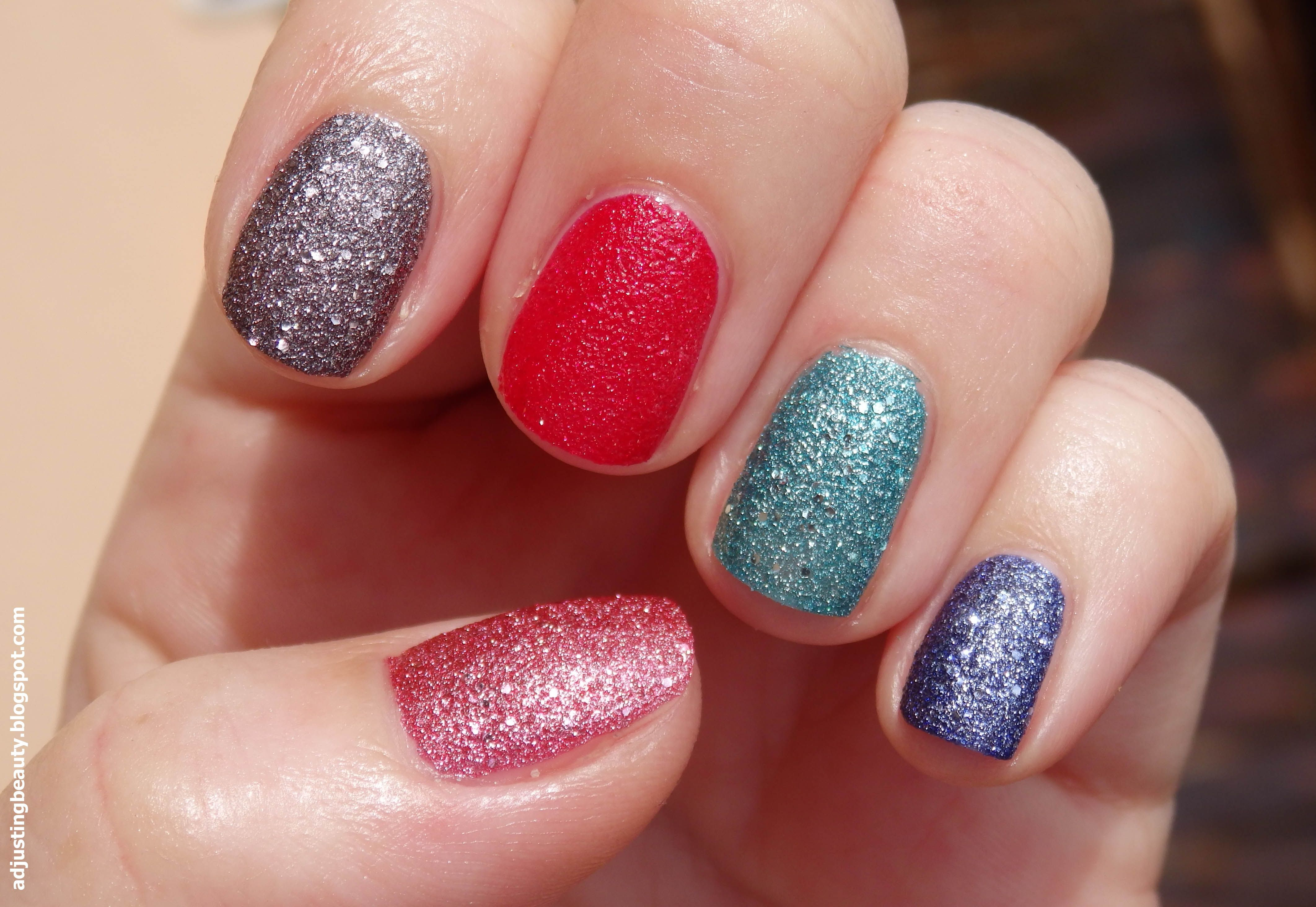 Review of Avon Magic Effects Mineral Crush nail polishes (Diamond ...