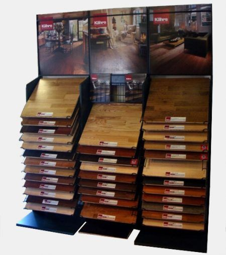 Wd648 best trade show display hardwood laminate flooring for Laminate flooring displays