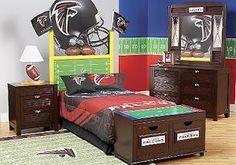 Football Goal Post Headboard Google Search Kids Bedroom Decor