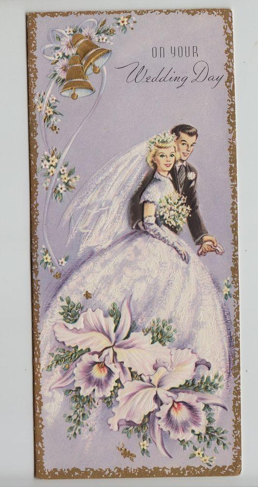 Днем, свадьба старинные открытки