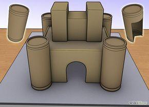 148e06e20 hacer la maqueta de un castillo   construcción de castilllo ...
