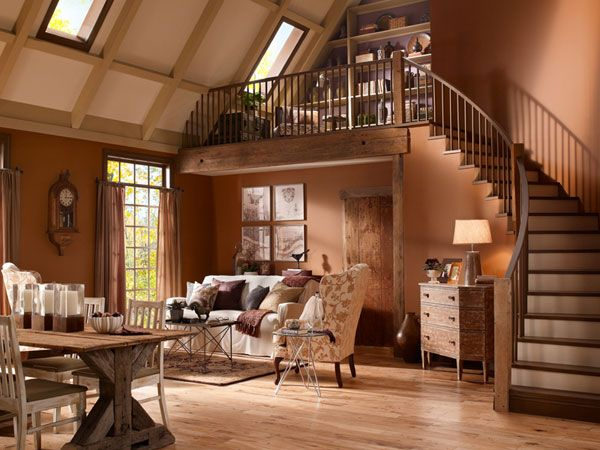 Best Rustic Paint Ideas For Living Room 25 Rustic Living Room 400 x 300