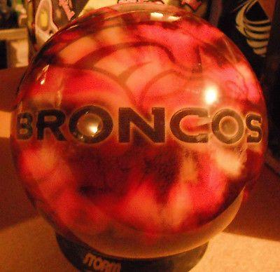 Vis A Ball Nfl Denver Broncos Bowling Ball 11 Lbs Undrilled Nfl Denver Broncos Denver Broncos Broncos