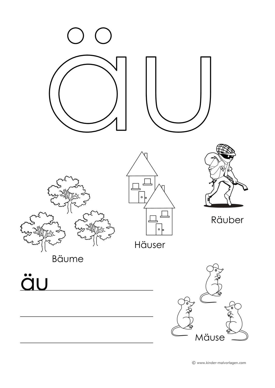 Arbeitsblatter Buchstabenkombinationen Mit Bildern Und Wortern Unterrichtsmaterial Im Fach Deutsch Buchstaben Lernen Buchstaben Arbeitsblatter