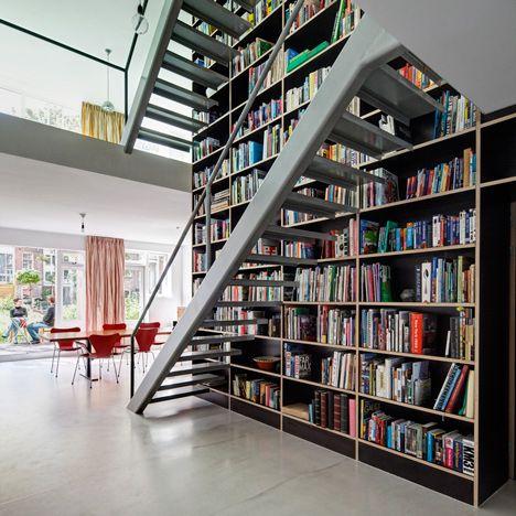 2012 review of architecture and design October Lofts, Interiors - designer mobel bucherregal